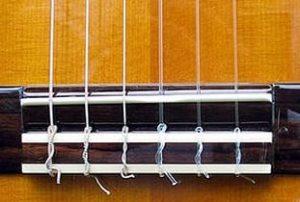 Нейлоновые струны гитары